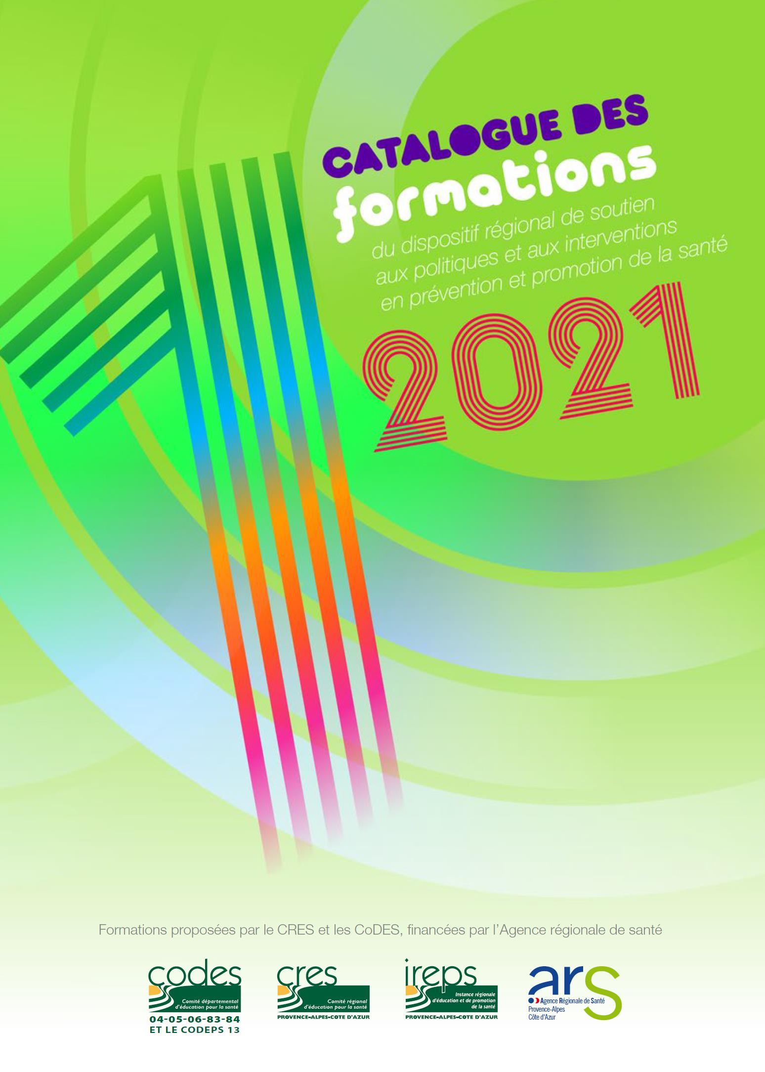 image catalogue des formations 2021