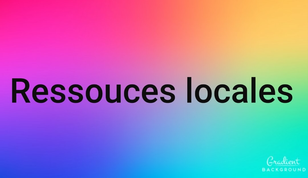 image ressources locales