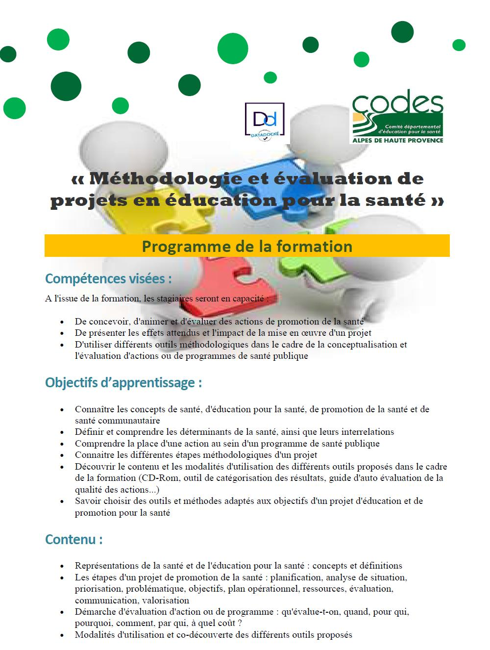 image programme page 1 methodo