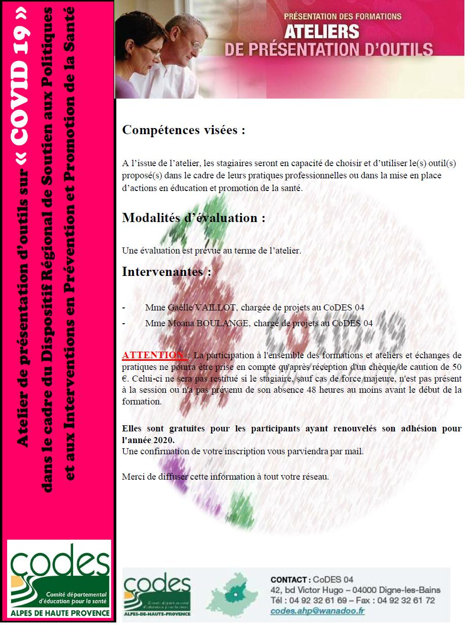 atelier COVID 19 page 2